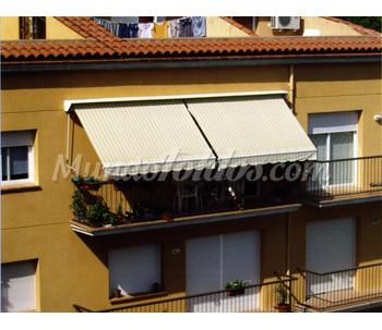 Toldos de brazo invisible for Precio toldos balcon