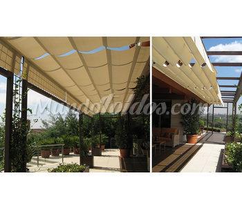 Toldo plegable horizontal for Toldo horizontal terraza