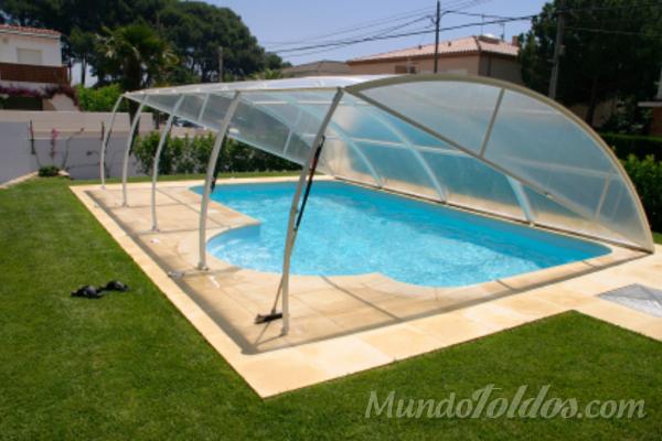 Toldos para piscina for Toldos para piscinas