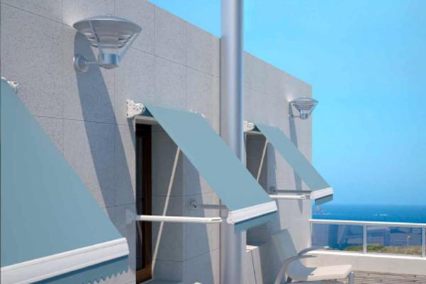 Sensores de viento y luz para optimizar el uso de los for Sensor viento para toldos