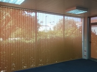 Cortina Vertical Screen Naranja