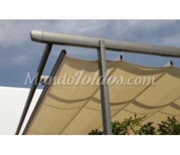 Pergola zen aluminio for Precio pergola aluminio