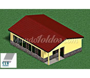 Casas madera - Modelos de casas de planta baja ...