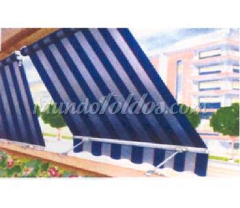 Toldo con sensor de viento sol for Sensor viento para toldos