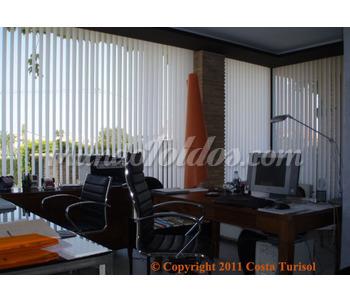 Cortinas verticales shantung for Cortinas verticales precio