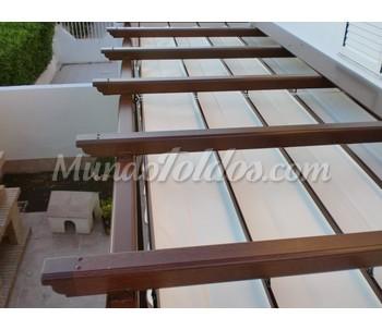 P rgola aluminio 120 - Pergolas de aluminio para terrazas ...