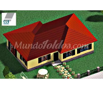 Modelos de planta baja fa 100 for Modelos de casas de planta baja