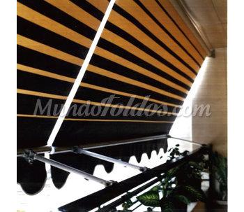Toldos fachada para balcon tel cat logo for Precio toldos balcon