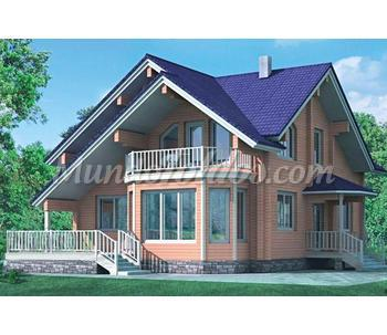 Casas prefabricadas de madera euro n rdicas cat logo - Casas prefabricadas guadalajara ...