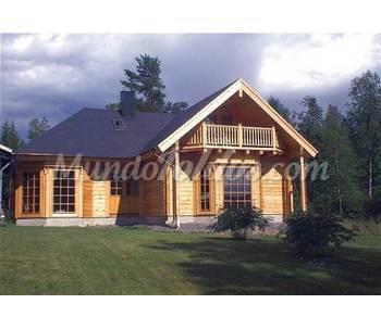 Casas prefabricadas de madera euro n rdicas - Casas madera nordicas ...