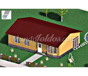 Modelo de planta baja ma 85 for Modelos casas planta baja