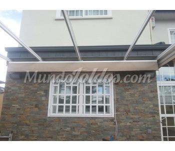 Estructuras para p rgolas for Estructura de aluminio para toldo