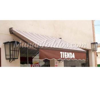 Cat logo de lonas y toldos for Toldo brazo extensible precio
