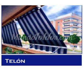 Toldos de tel n de balc n for Precio toldos balcon